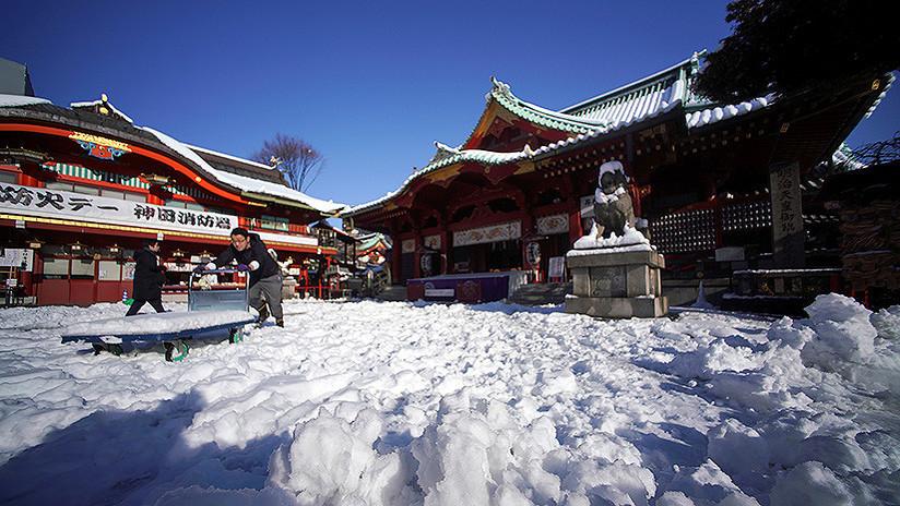 Estos muñecos de nieve japoneses demuestran que están a otro nivel (FOTOS)