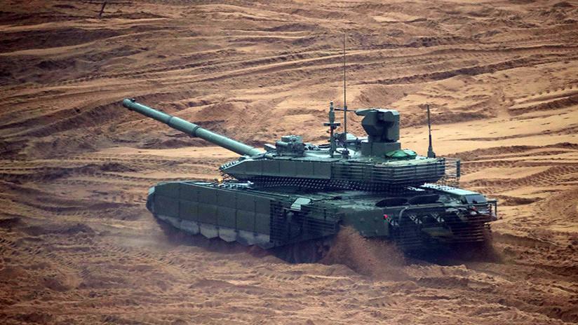 """Medio alemán incluye una bomba y un tanque rusos en su lista de """"superarmas modernas"""""""