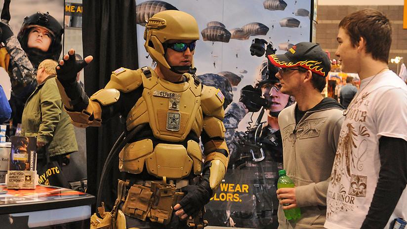 El Ejército de EE.UU. busca diseños para un uniforme de 'Iron Man'