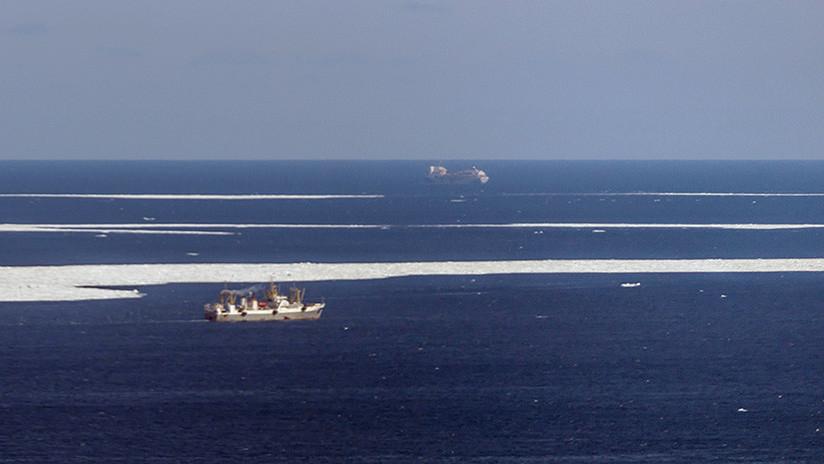 Desaparece en el mar de Japón un barco pesquero ruso con 21 tripulantes a bordo
