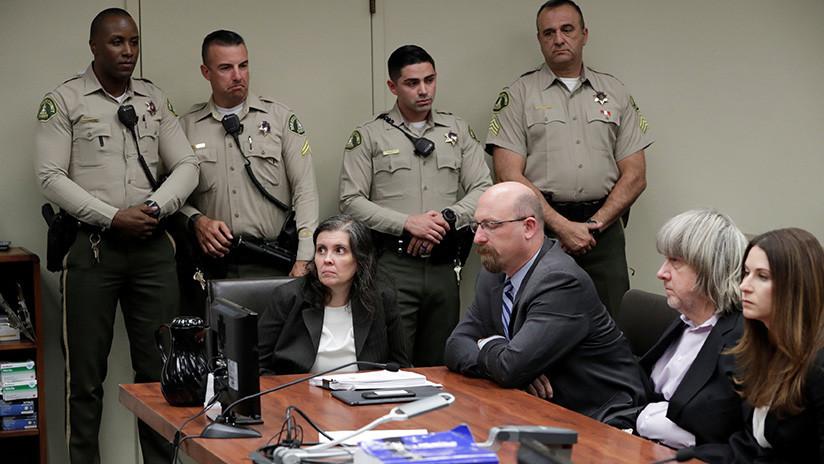 Insólitas y chocantes razones por las que una pareja de EE.UU. torturaba a sus 13 hijos