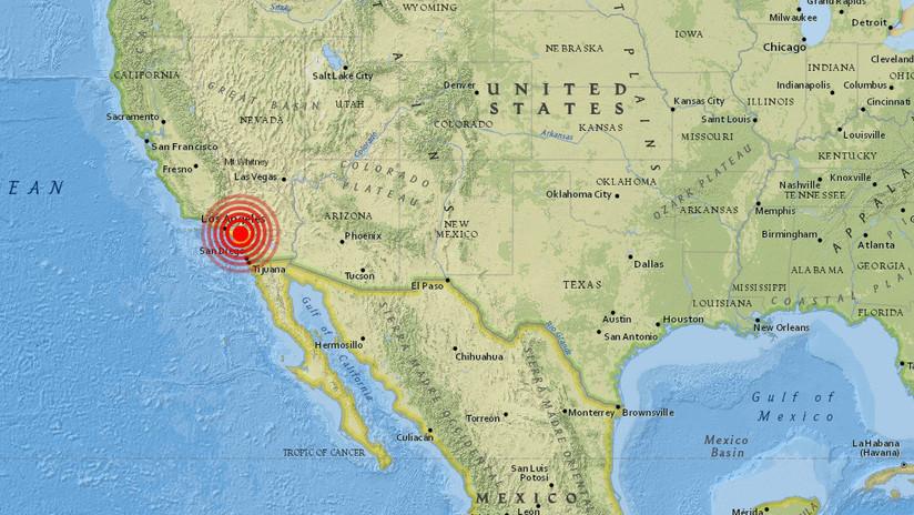 Un sismo de magnitud 4,0 sacude Los Ángeles y se siente en otras partes del sur de California
