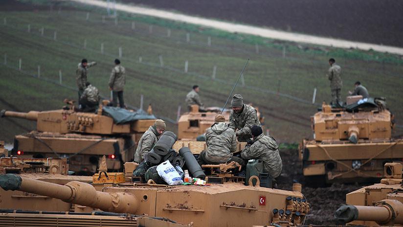Alemania suspende el suministro de armas a Turquía por su operativo en Siria