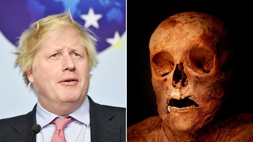 Una momia del siglo XVIII hallada en una iglesia suiza era de una pariente lejana de Boris Johnson