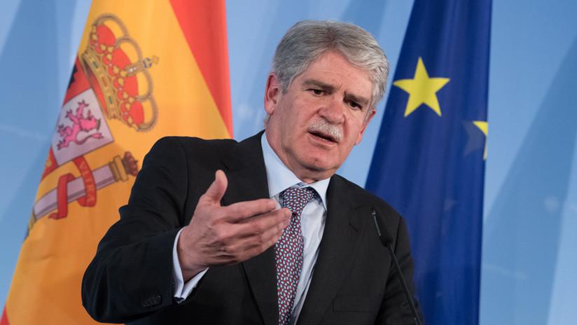 """España aplicará """"medidas de reciprocidad"""" tras la expulsión de su embajador en Venezuela"""