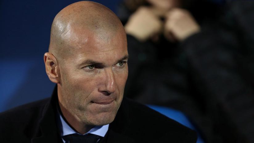 Zinedine Zidane es en realidad... ¿Iván Campo?