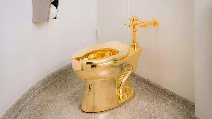 El museo Guggenheim ofrece a Trump un inodoro de oro macizo, en vez del Van Gogh que le solicitó