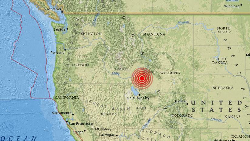 EE.UU.: Se registra en Utah un sismo de magnitud 4,3