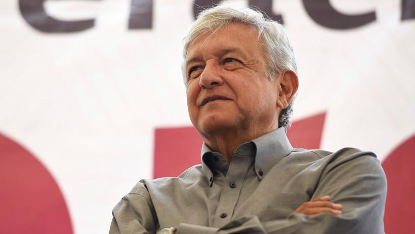 México: 'Andrés Manuelovich' recibe apoyo de los 'rusos' de Chiapas (VIDEO)