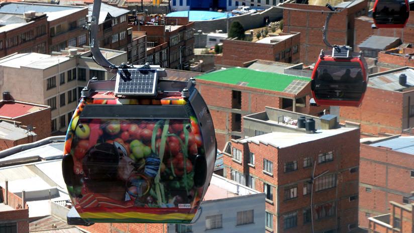 El teleférico que ha entrado en los Guinness por ser el más extenso... y está en Latinoamérica