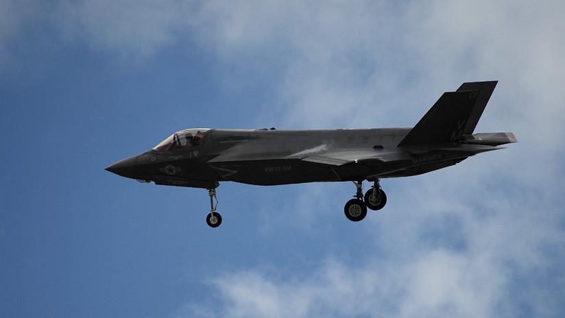 VIDEO: Prueban el aterrizaje vertical del caza F-35 sobre una superficie inclinada