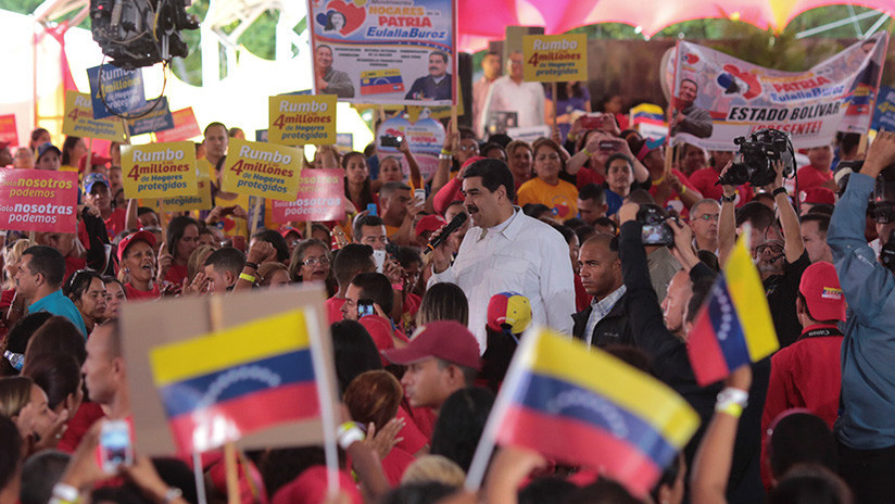 Izquierda europea condena sanciones contra Venezuela