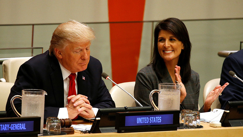 La embajadora de EE.UU. en la ONU comenta su supuesto lío con Donald Trump