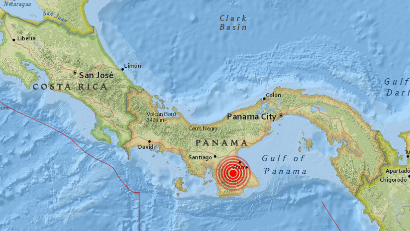 """Se registra un """"fuerte"""" temblor en la ciudad de Panamá"""