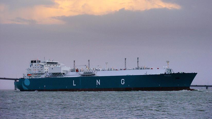 Un segundo buque con gas ruso pondrá rumbo a EE.UU.