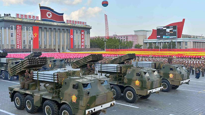 Un satélite capta decenas de tropas y piezas de artillería de Pionyang preparando un desfile