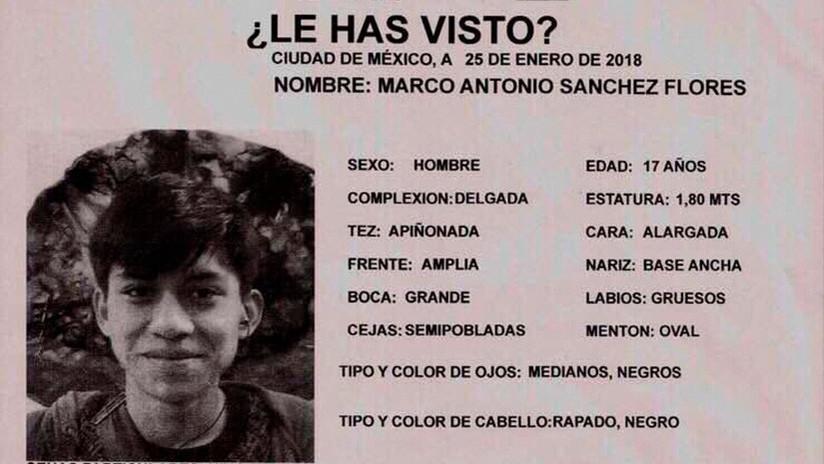 Preocupación en México por la desaparición de un joven detenido por policías