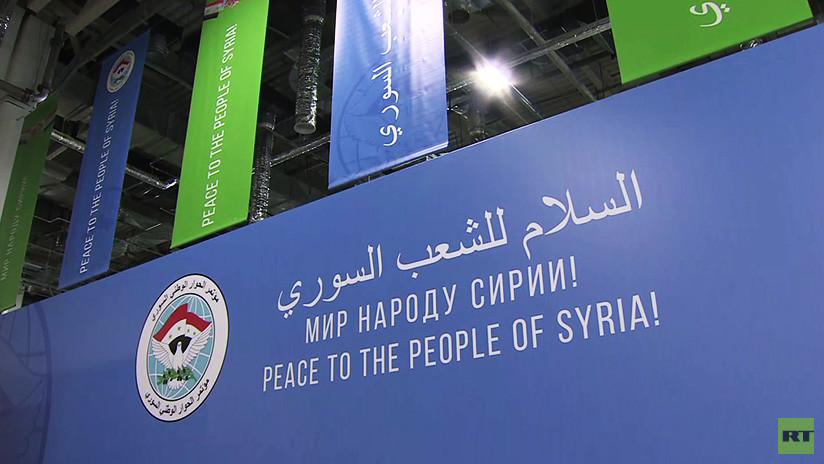 Revitalización de las conversaciones de Ginebra: Rusia empieza el Congreso de Diálogo Nacional Sirio