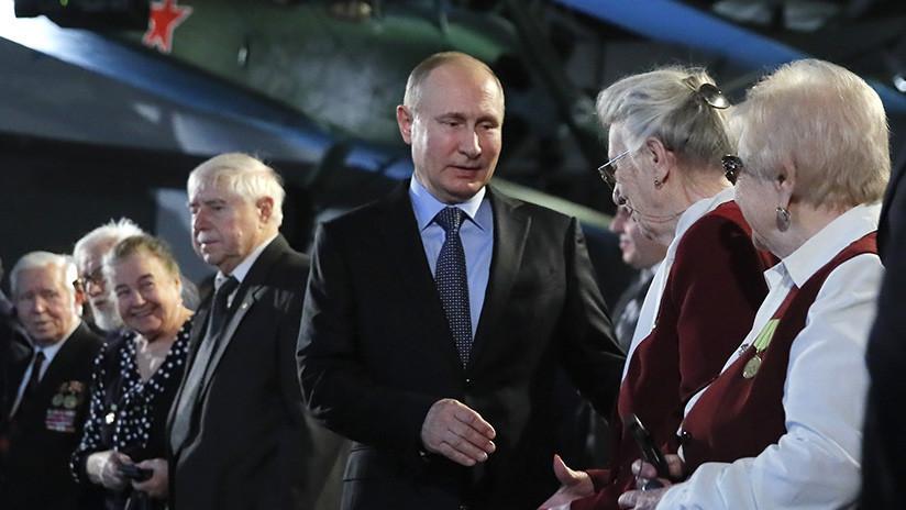 """Putin: """"Nuestra memoria es la advertencia contra esfuerzos de dominación mundial"""""""