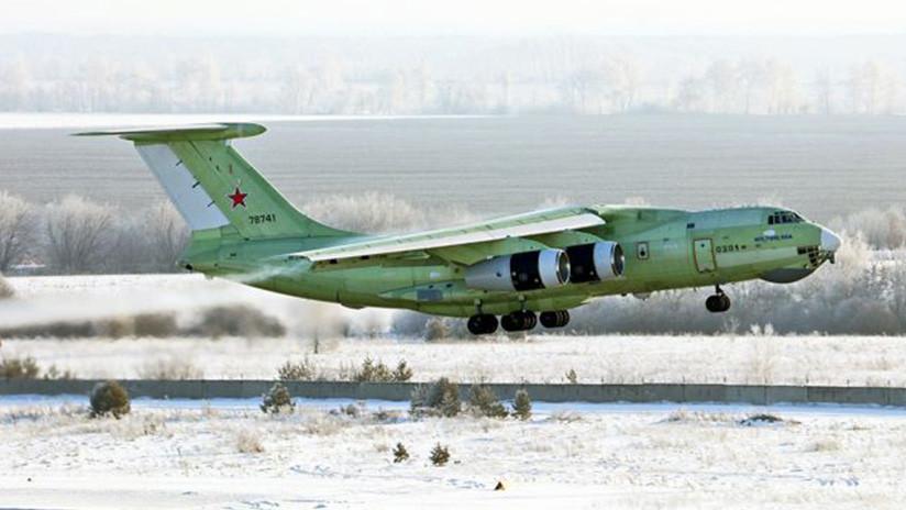 VIDEO: Primer vuelo del modernizado avión cisterna Il-78