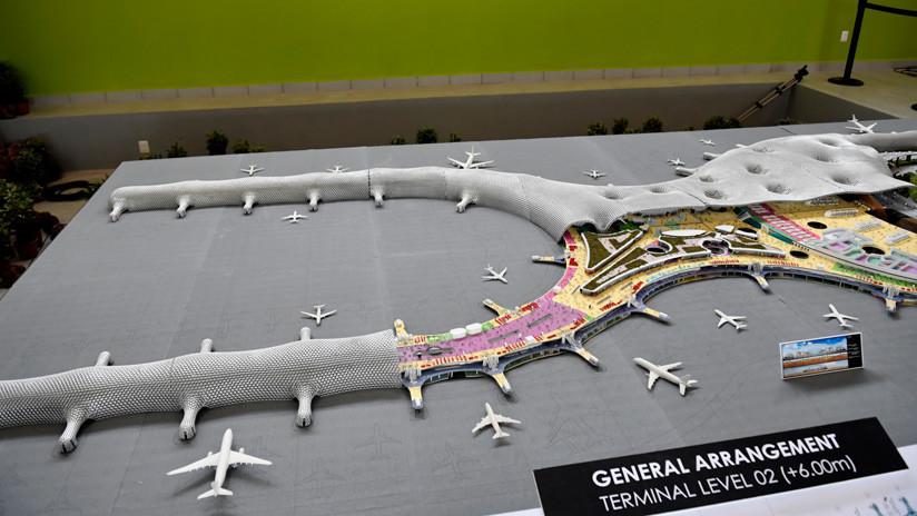 Así será la torre de control del nuevo aeropuerto internacional de la Ciudad de México (VIDEOS)