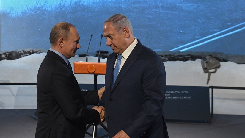 Putin le obsequia a Benjamín Netanyahu una carta original de Oskar Schindler