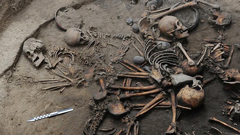 Encuentran en México restos humanos en una fosa de hace 2.400 años (FOTOS, VIDEO)