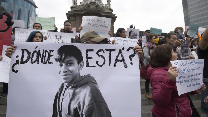 Los cabos sueltos del caso de la 'desaparición forzada' de un joven en Ciudad de México