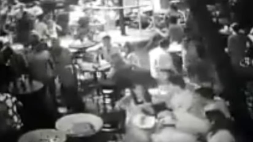Filtran un video del tiroteo en un bar de Acapulco donde falleció un turista chileno