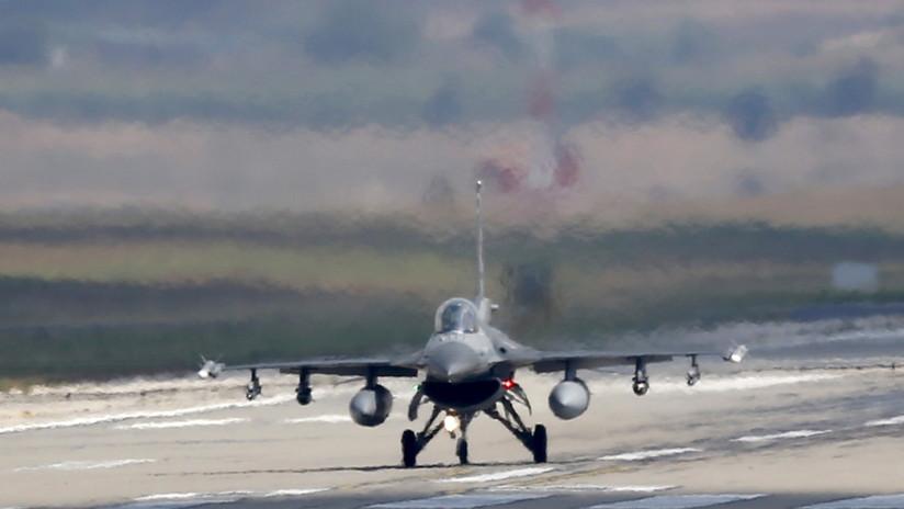 Aeronaves de combate turcas destruyen varios objetivos en el norte de Irak