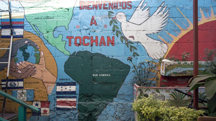 Un albergue en Ciudad de México para los migrantes que se dirigen a EE.UU.