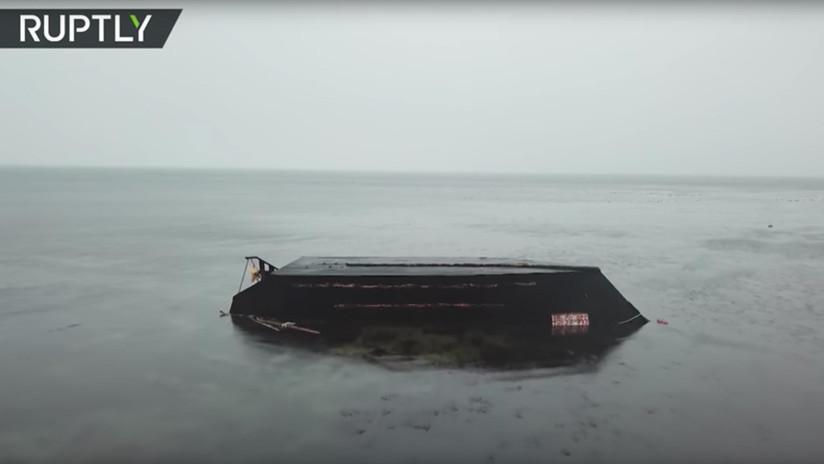VIDEO: El misterio de los 'barcos fantasma' que llegan a las costas de Japón con norcoreanos muertos