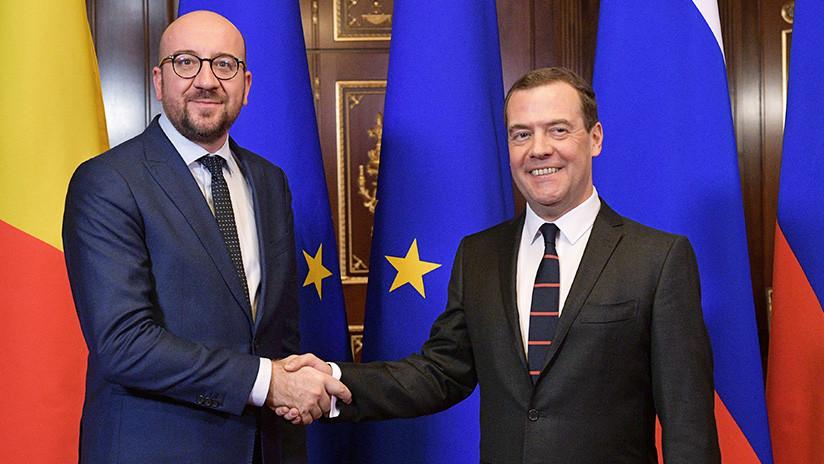 """Primer ministro belga: """"La Unión Europea no va a ampliar las sanciones antirrusas"""""""