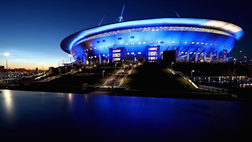 """La FIFA, """"muy contenta"""" con la visita al estadio de San Petersburgo de cara al Mundial 2018"""