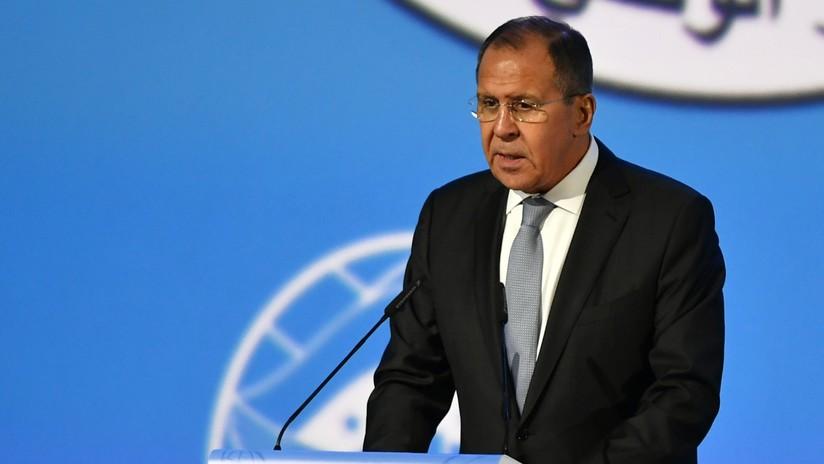 A Lavrov le sorprende que Washington necesitara tanto tiempo para elaborar su 'informe Kremlin'