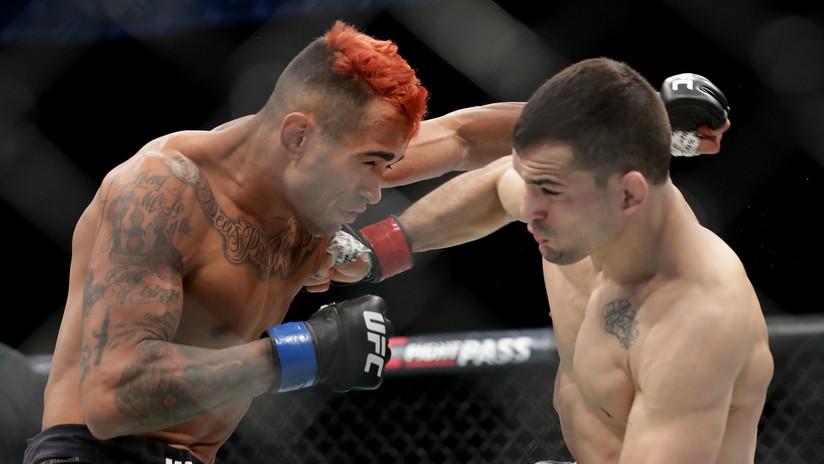 VIDEO: Luchador de la MMA vence a su rival con brutal nocaut y sin derramar sangre