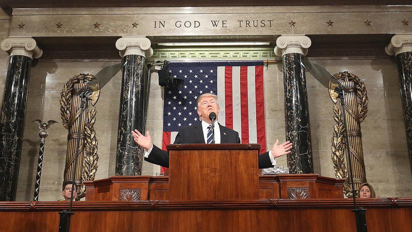 Trump llama a la unidad del país