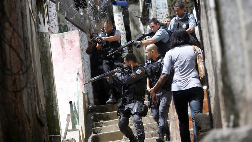 Brasil: Una operación policial en favelas de Río de Janeiro deja al menos seis muertos