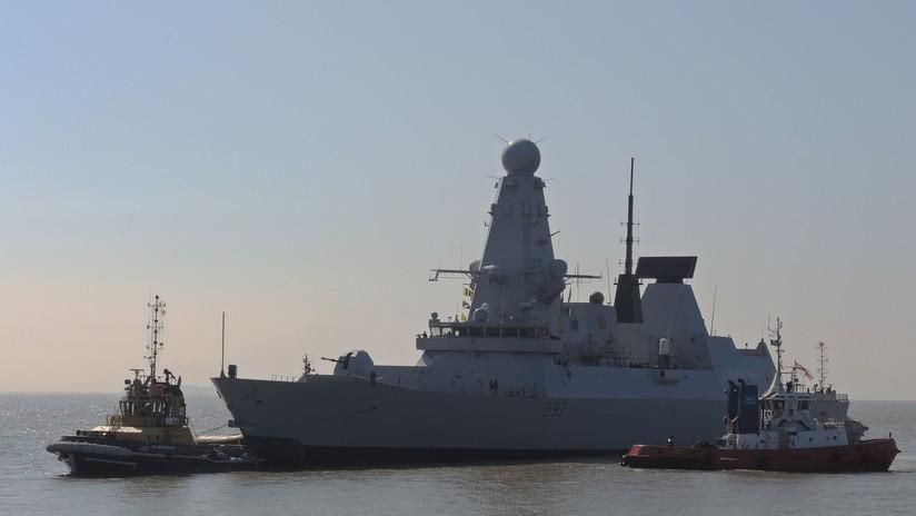 Un destructor británico equipado con misiles Tomahawk entra en el mar Negro