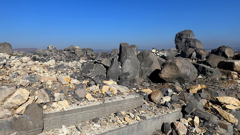 Video: Ataques aéreos de Turquía destruyen un templo de 3.000 años de antigüedad en Siria