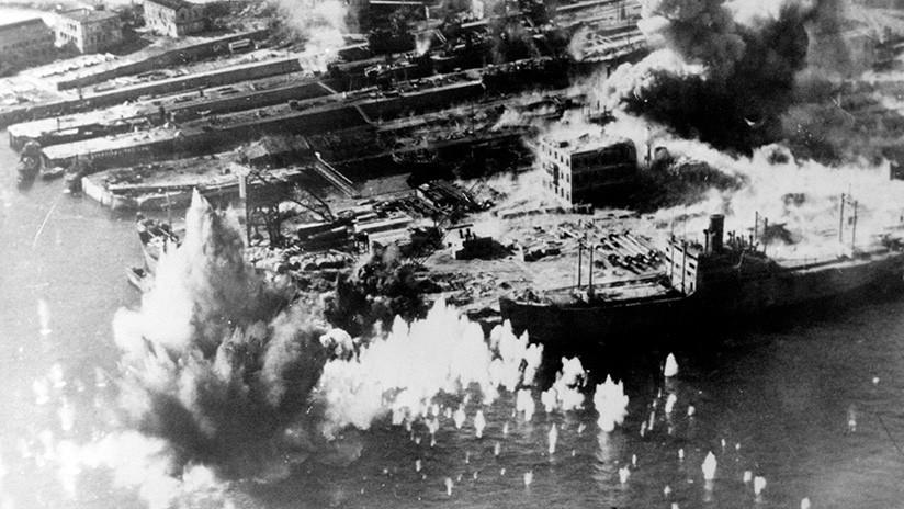 FOTOS: Evacuación en Hong Kong por el peligro de una bomba de la Segunda Guerra Mundial