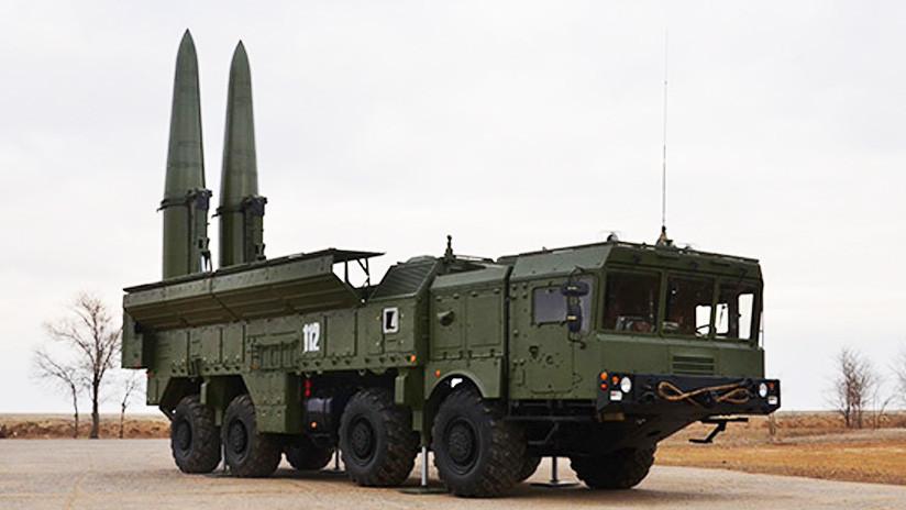 Rusia termina la construcción de dos áreas de estacionamiento para los futuros misiles Iskander-M