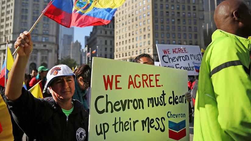 Ecuatorianos piden al Departamento de Justicia de EE.UU. investigar a Chevron por soborno a testigo
