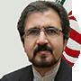 Bahram Ghasemi, el portavoz del Ministerio de Exteriores iraní