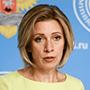 María Zajárova, portavoz del Ministerio de Relaciones Exteriores de Rusia