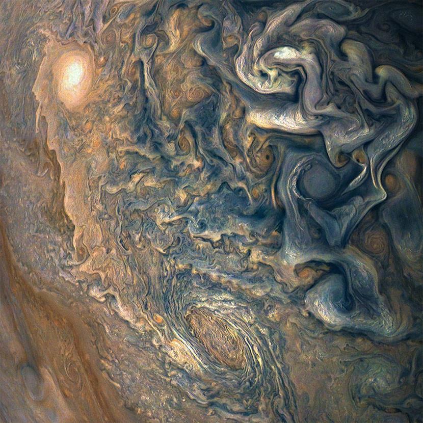 Nuevas imágenes de Júpiter son reveladas por la NASA