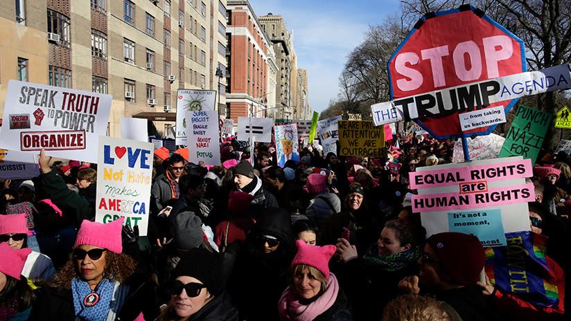 Resultado de imagen para Marcha de las mujeres 20 de enero