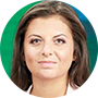 Margarita Simonián, directora del grupo RT