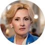 La vicepresidenta de la Duma Estatal, Irina Yarovaya