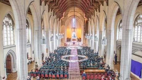 La parroquia benedictina en Londres